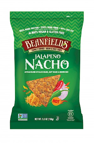 Beanfields Snacks Bean and Rice Chips Jalapeño Nacho is MY PICK OF THE WEEK!
