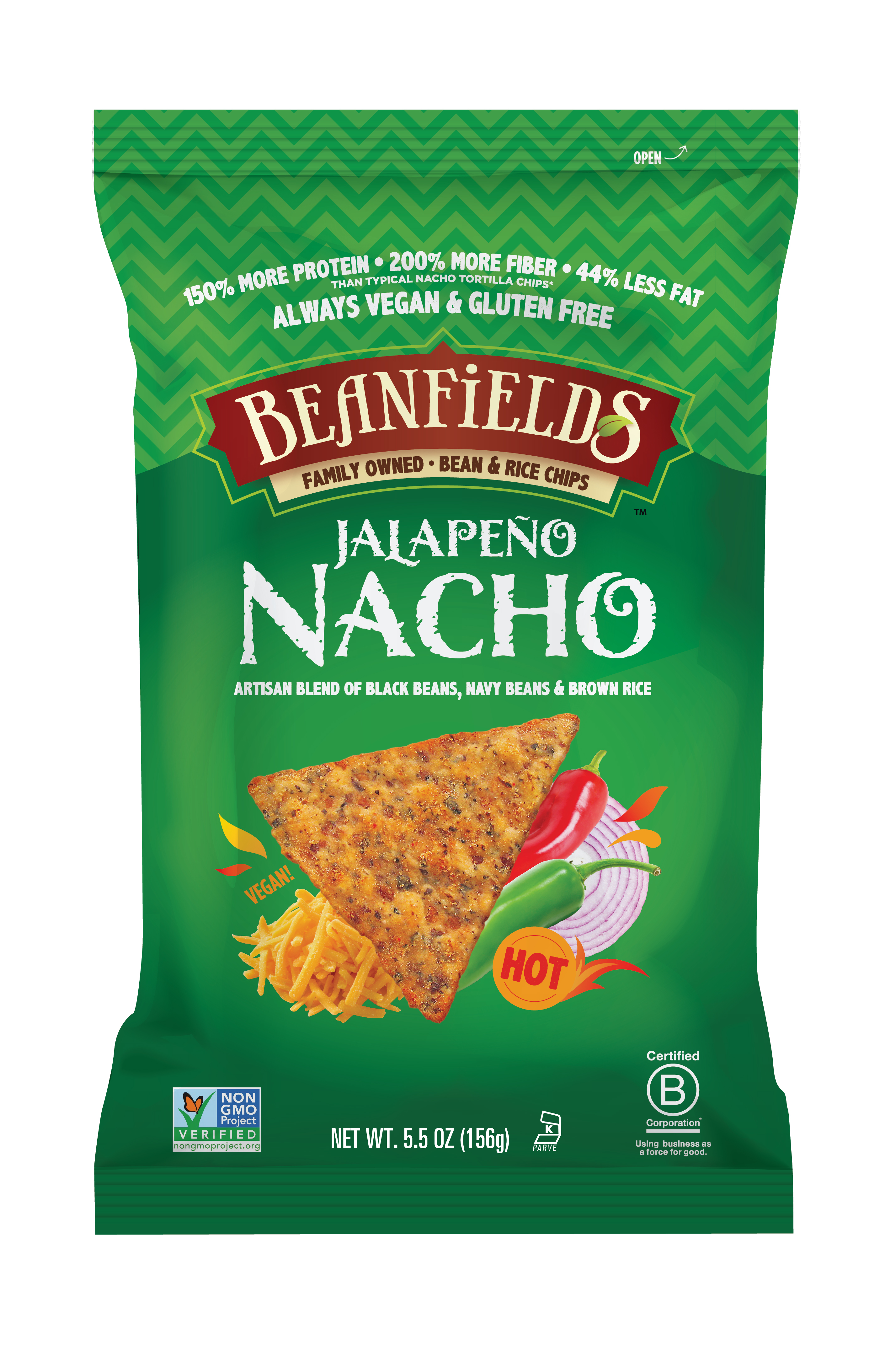 Beanfields Snacks: Bean and Rice Chips