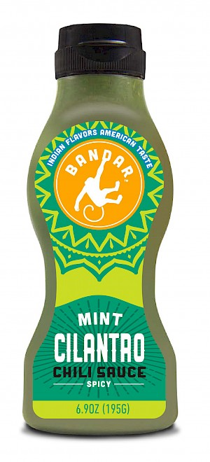 Bandar Foods Chili Sauce Mint Cilantro is a MISS!