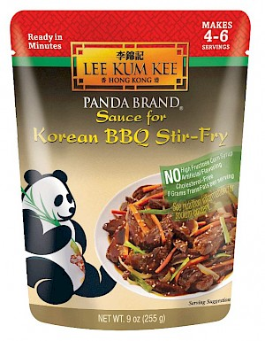 Lee Kum Kee Panda Brand Ready Sauce Korean BBQ Stir-Fry is a HIT!
