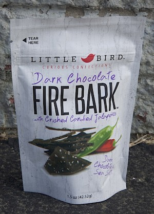 Little Bird Fire Bark Dark Chocolate is a HIT!