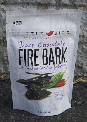 Little Bird Fire Bark Dark Chocolate is a HIT!