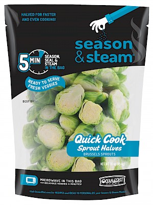 Season & Steam Quick Cook Sprout Halves is  MY PICK OF THE WEEK!
