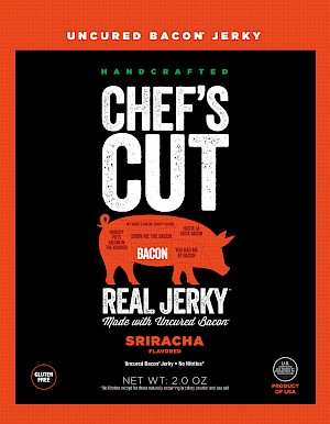 Chef's Cut Real Jerky Bacon Jerky Sriracha is a HIT!