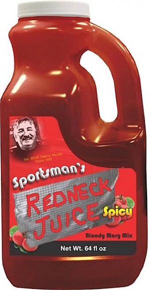 Sportsmans Redneck Juice Bloody Mary Mix Spicy is a Miss