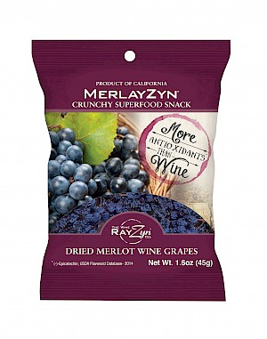 The Wine RayZyn Company MerlayZyn Dried Merlot Wine Grapes is a HIT!