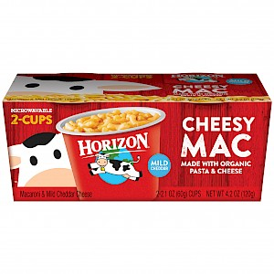 Horizon Classic Macaroni & Mild Cheddar Cheese is a HIT!