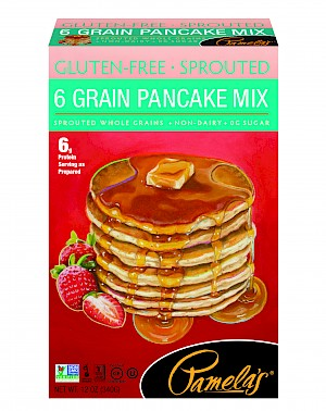 Pamela's Products Sprouted Grains 6 Grain Pancake Mix is MY PICK OF THE WEEK!