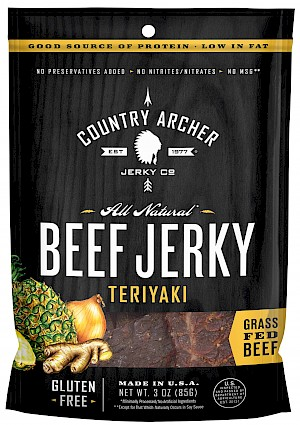 Country Archer Jerky Co. Teriyaki Beef Jerky is a HIT!