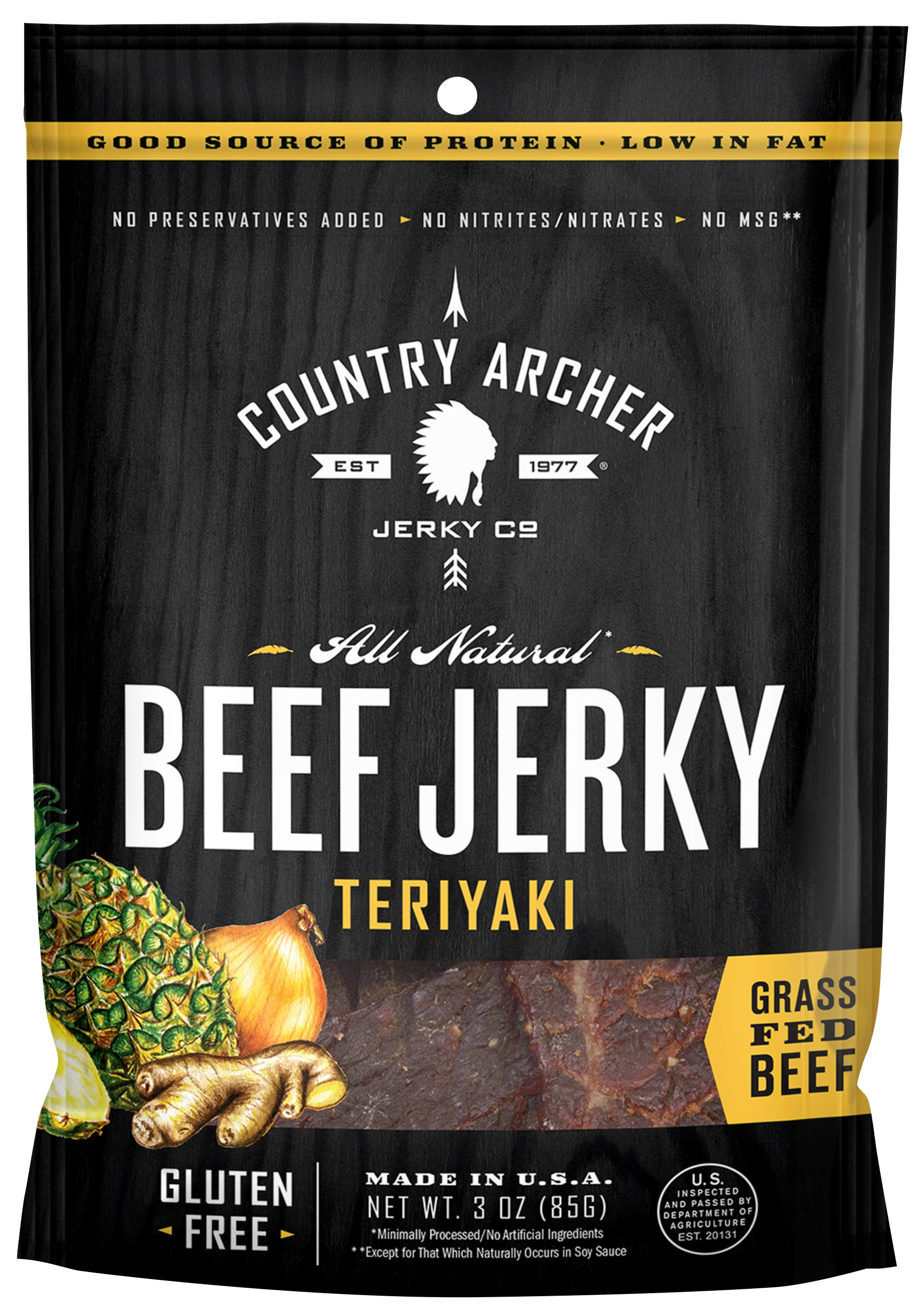 Country Archer Jerky Co.: Beef Jerky