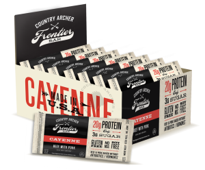 Country Archer Jerky Co. The True Bar Cayenne is a HIT!