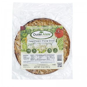 Outer Aisle Cauliflower Pizza Crust Original is a HIT!