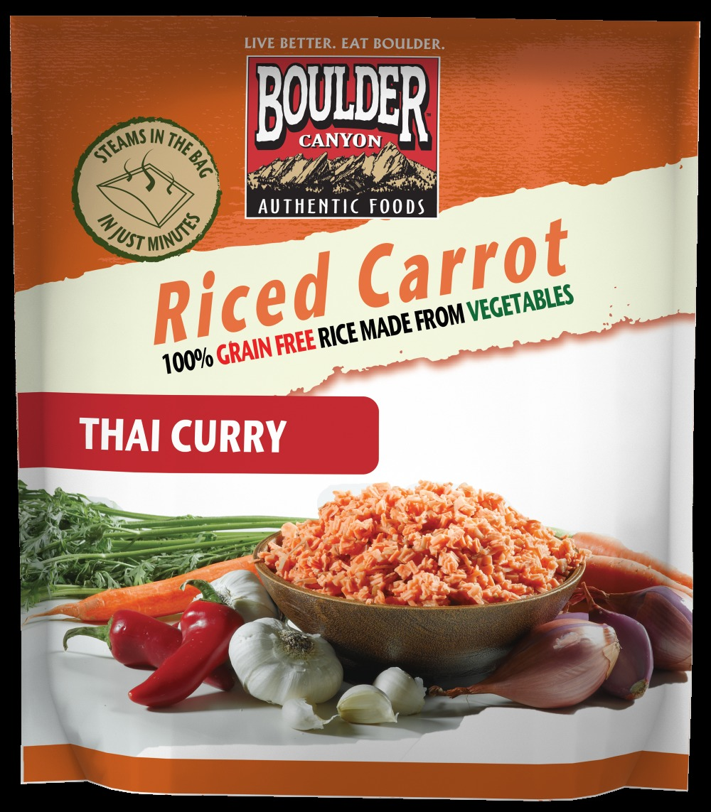 Boulder Canyons Food: Riced Carrot