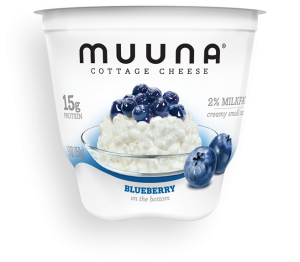 Muuna Cottage Cheese Blueberry is a HIT!