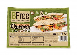 BFree Foods Stone Baked Wheat & Gluten Free Pita Breads is a HIT!