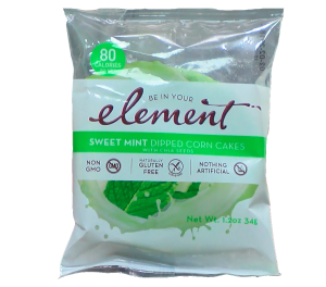 Element Corn Cakes Sweet Mint is a HIT!