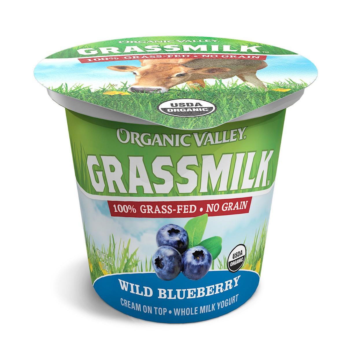 Organic Valley: Grassmilk Yogurt