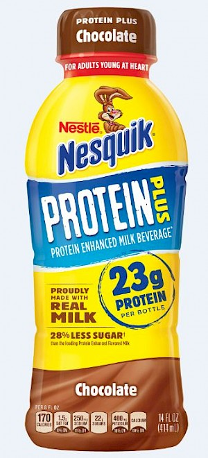 NESTLE® NESQUIK® Protein Plus Chocolate is a HIT!