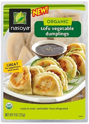 Nasoya Organic Tofu Vegetable Dumplings is a HIT!