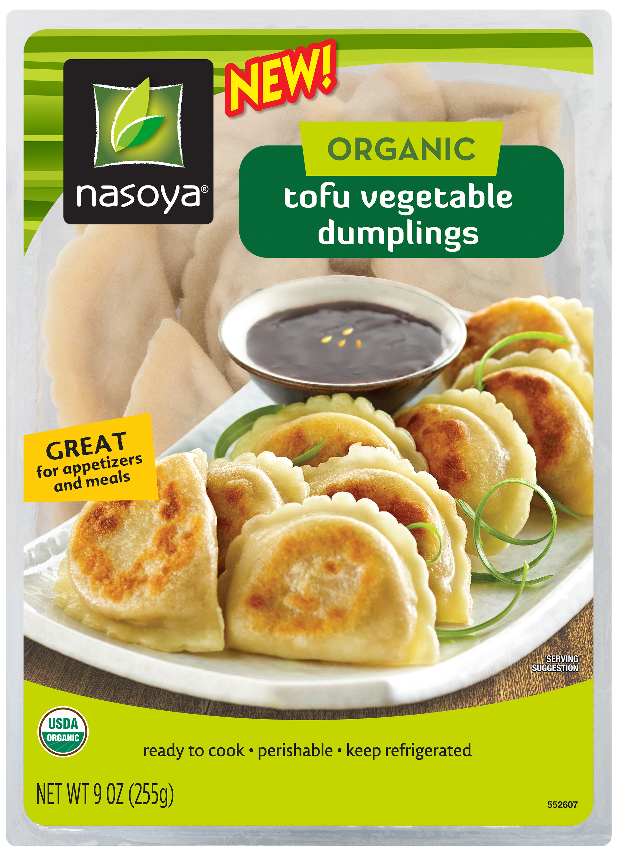 Nasoya: Organic Tofu Vegetable Dumplings