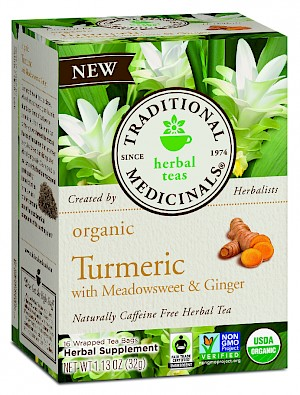 Traditional Medicinals Turmeric with Meadowsweet & Ginger is MY PICK OF THE WEEK!