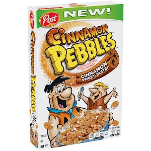 Post Cinnamon Pebbles is a HIT!