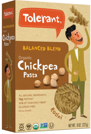 Tolerant Foods Balanced Blend Chickpea Pasta is a HIT!