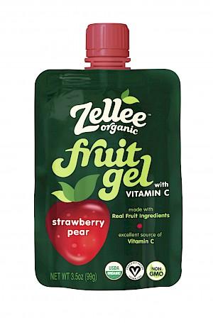 Zellee Organic Fruit Gel Strawberry Pear is a HIT!
