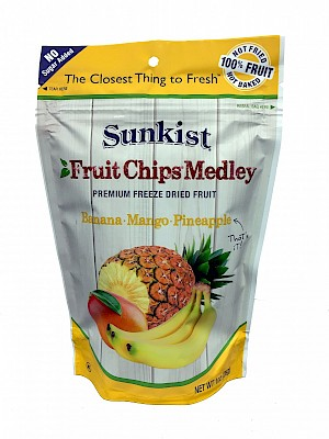 Sunkist Fruit Chips Medley Banana Mango Pineapple is a HIT!