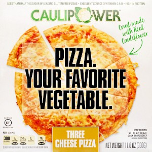 CAULIPOWER Cauliflower-Crust Pizza Three Cheese is a HIT!