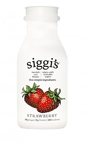 siggi's Whole-Milk Drinkable Yogurt Strawberry is MY PICK OF THE WEEK!
