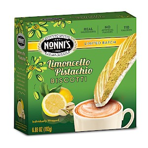 Nonni's Foods Limited Batch Spring Biscotti Limoncello Pistachio is a HIT!