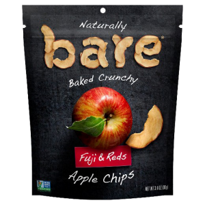 Bare Snacks Baked Chips Fuji & Reds Apple is a HIT!