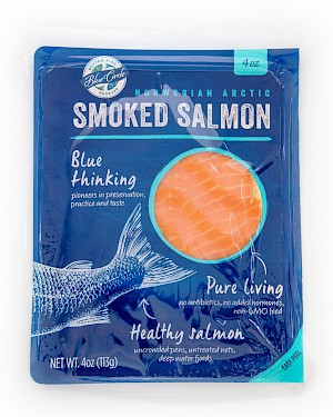 Blue Circle Foods Norwegian Arctic Cold Smoked Salmon