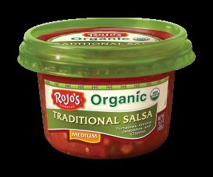 Rojo's Organic Traditional Salsa Medium