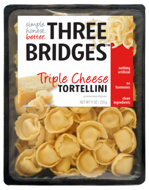 Three Bridges Triple Cheese Tortellini