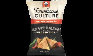 Farmhouse Culture Kraut Crisps Smoked Jalapeno