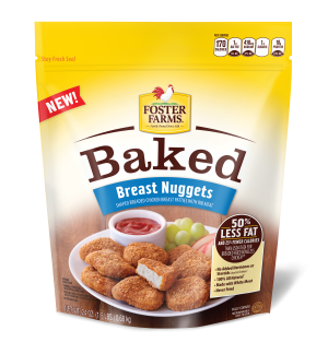 Foster Farms Original Baked Chicken Breast Nuggets