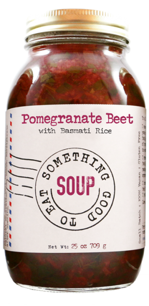 Something Good To Eat Pomegranate Beet Soup