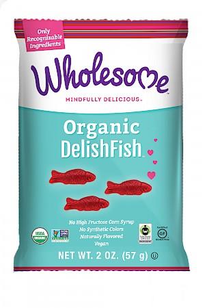 Wholesome Organic DelishFish Raspberry