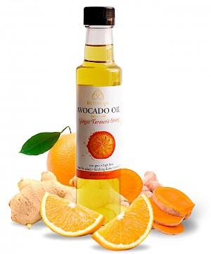 Neomega Avocado Oil Ginger Turmeric Orange