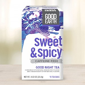 Good Earth Sweet & Spicy Good Night Tea Chamomile