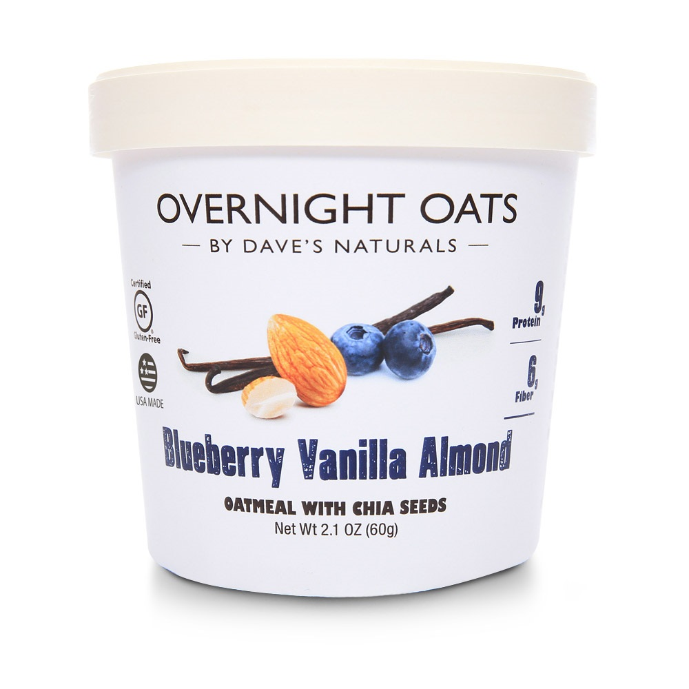 Dave's Naturals: Overnight Oats