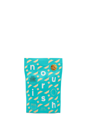 Nourish Snacks Granola Bites Crunchy Coconut Vanilla