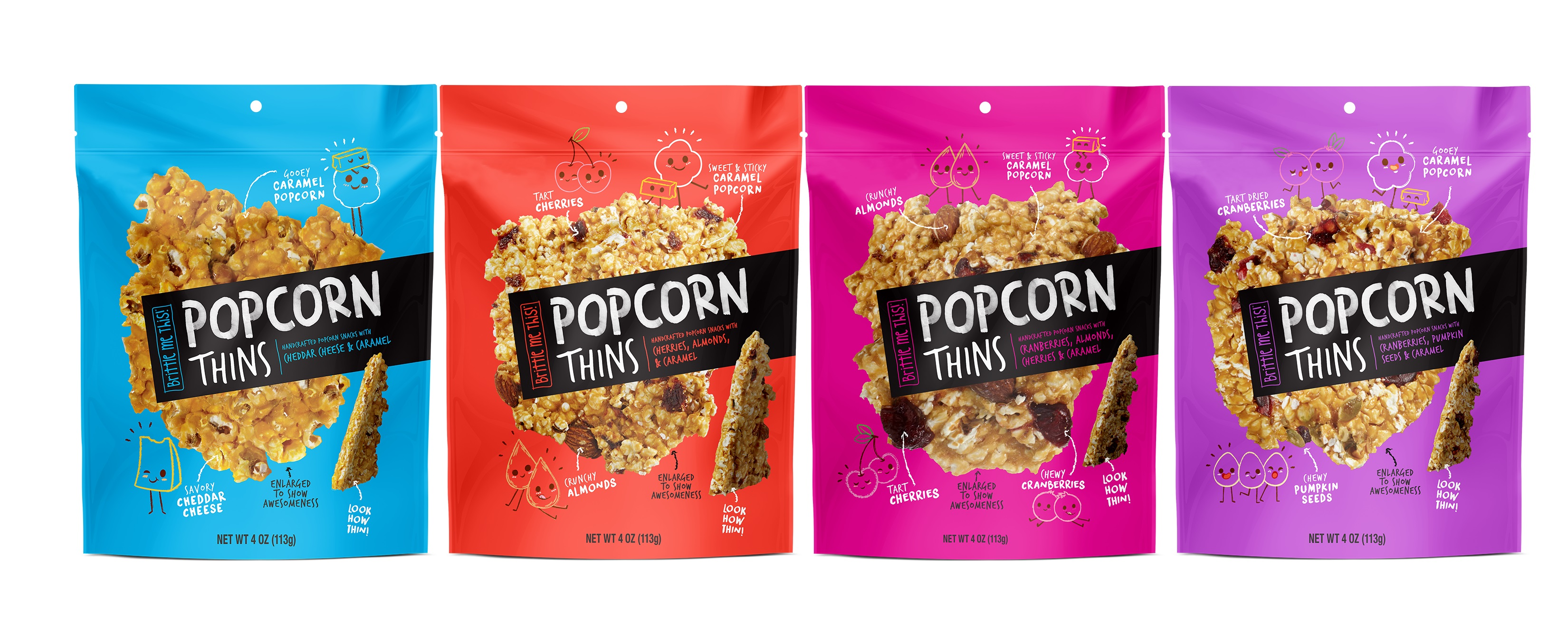 Brittle Me This!: Popcorn Thins
