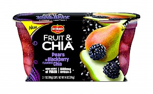 Del Monte Fruit & Chia™ Pears in Blackberry Flavored Chia