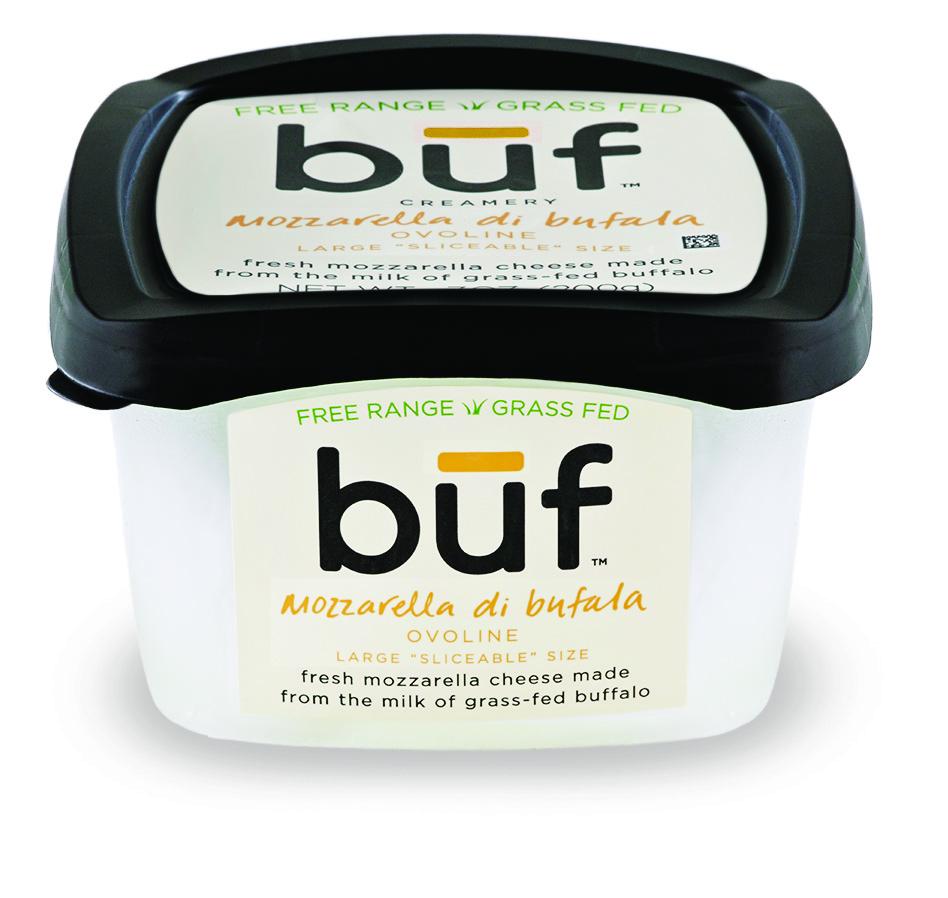 Buf Creamery: grass fed water buffalo fresh mozzarella