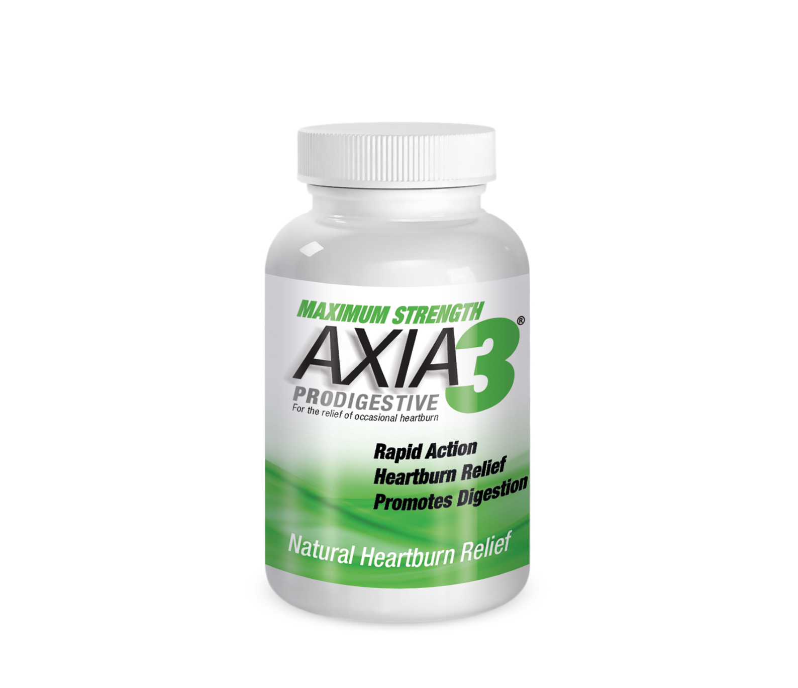 Axia Essentials Maximum Strength Axia3 ProDigestive Heartburn Relief Natural Mint Candy