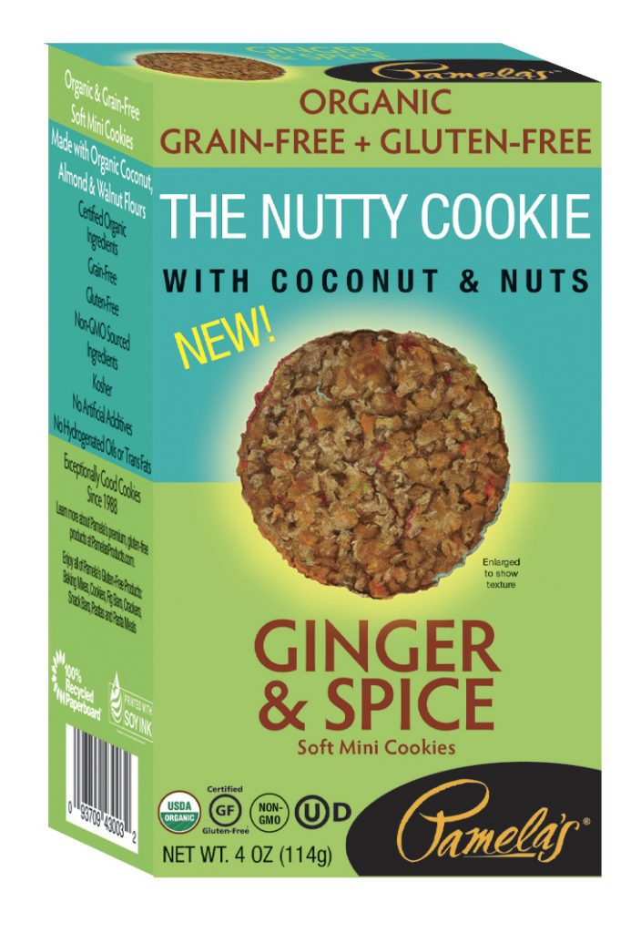 Pamela's: The Nutty Cookie With Coconuts & Nuts