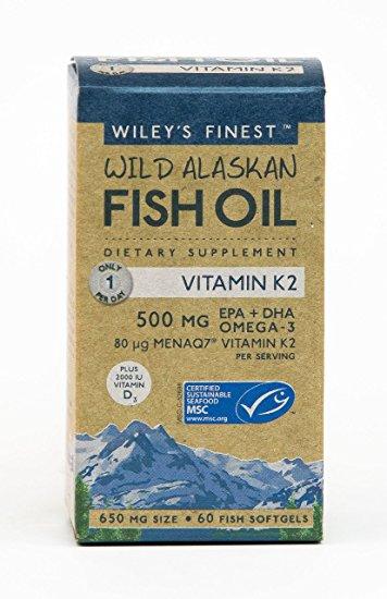 Wiley's Finest: Wild Alaskan Fish Oil
